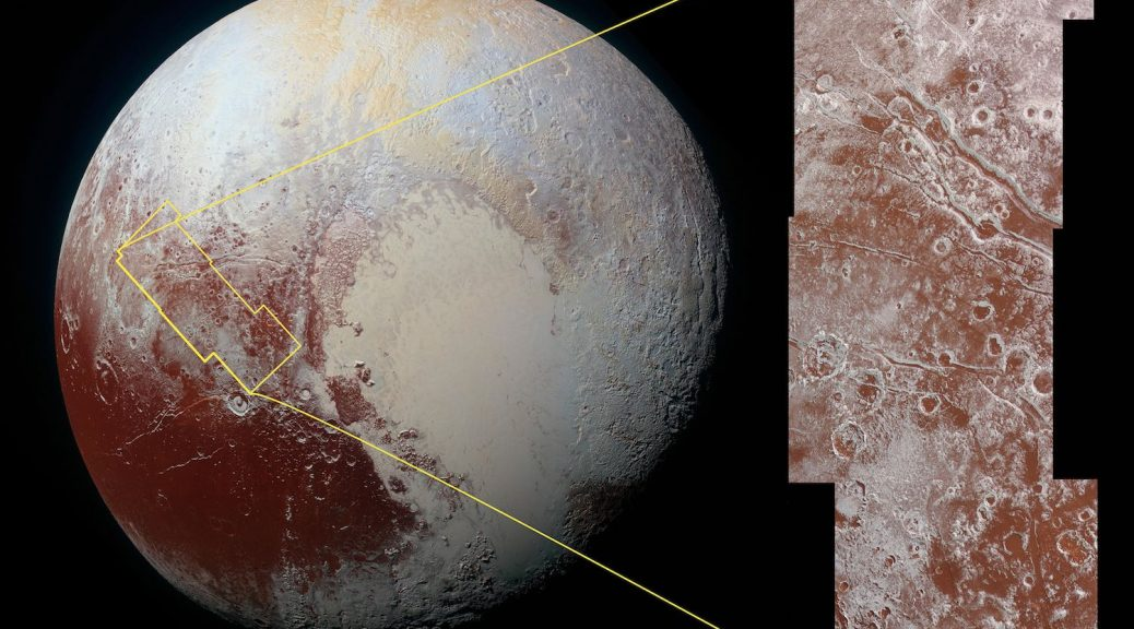 Dernière photo et image de Pluton et de ce qu(on nous avons observé.