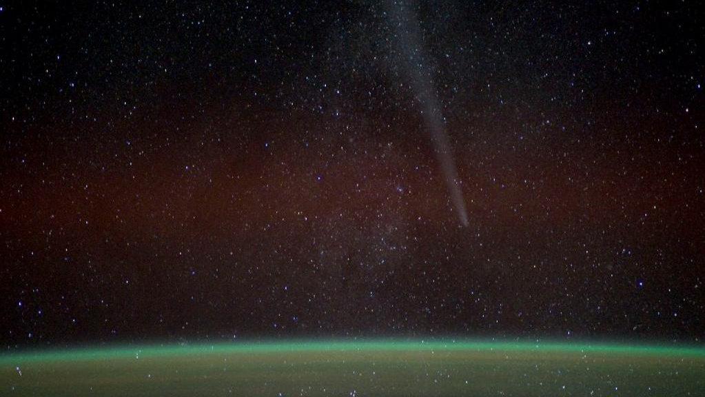 Photo de Lovejoy vu de la NASA.
