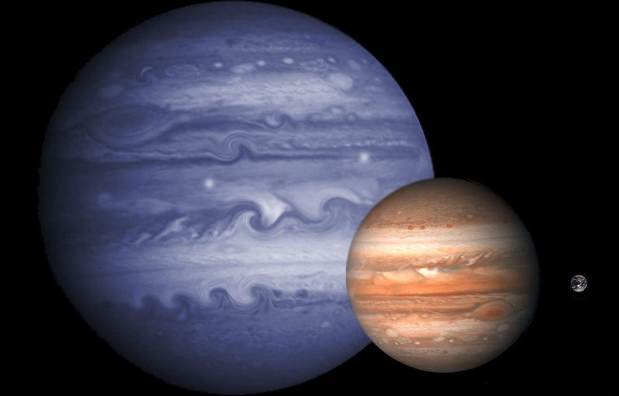 Photo Planète X vs Jupiter et nous!