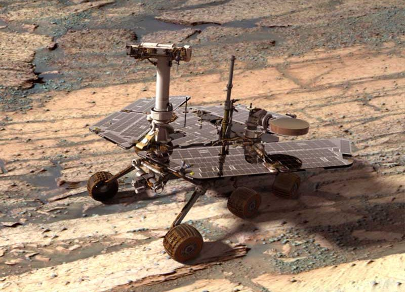 Photo du Rover Opportunity.