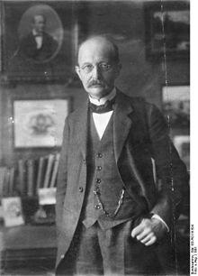 Photo de Max Planck en 1901.